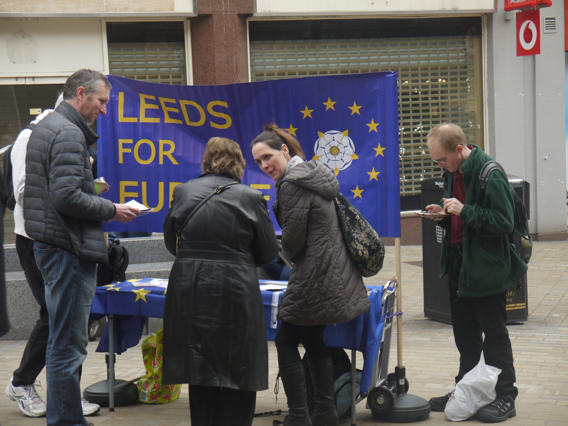 Fighting brexit in Leeds